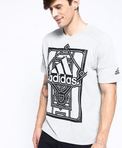 adidas Performance - Tricou Side Aop - Îmbrăcăminte - Tricouri